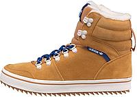 Мужские зимние кроссовки Adidas Honey Hill Winterboots High Top (Адидас) с мехом рыжие