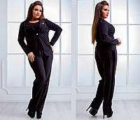 Короткий женский пиджак на пуговке(БАТАЛ)