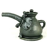 Турка керамическая ручной работы Слон 350мл с подставкой 9419
