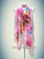 Кашемировые палантины Фуршет, розовый