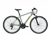 "Велосипед Lapierre Cross 100 2017 18"" серый"
