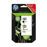 Картридж HP DJ No.121 Black/color (CC640,CC643) Combo Pack (CN637HE)