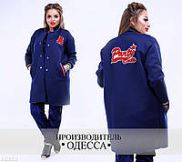 Жеский пиджак батал 11213