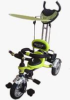 Велосипед 3-х колесный Mars Trike надувные салатный  салатный