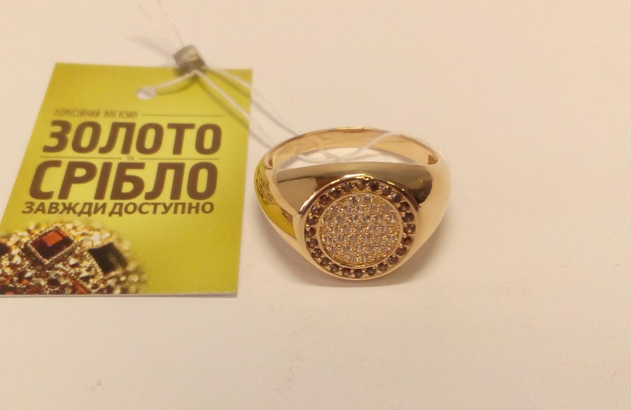 Золотой перстень с бриллиантами 0,55 карат. - Комісійний магазин