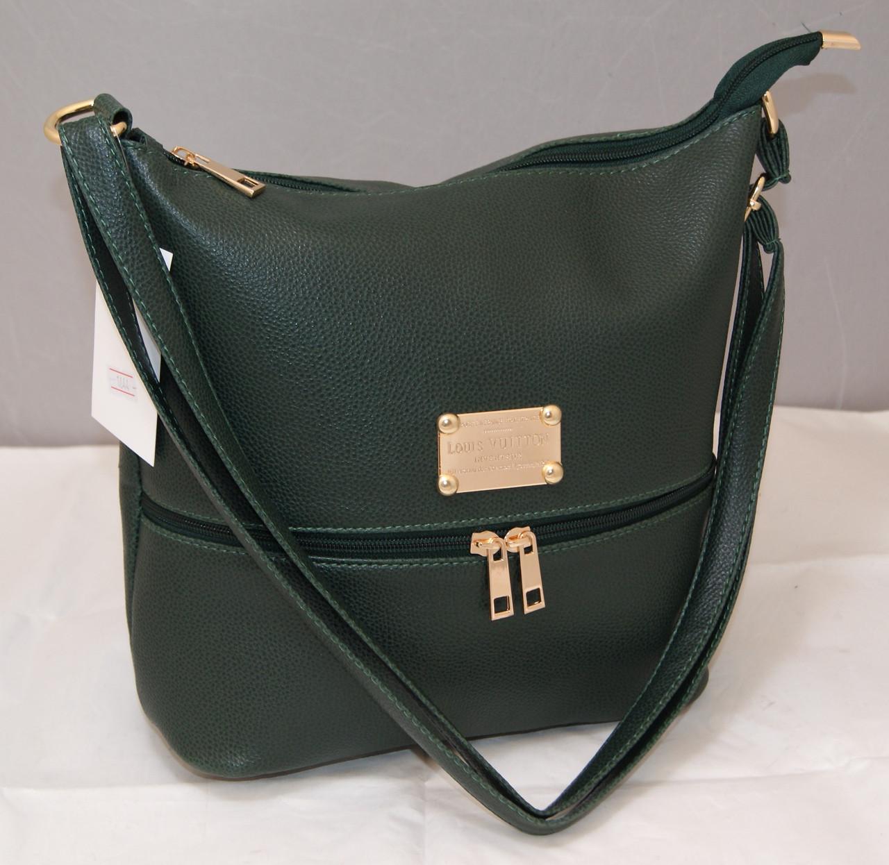 Женская сумка Louis Vuitton, зеленый Луи Виттон  продажа, цена в ... e53bc7dd886