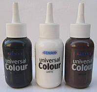 Краска для камня белая, черная, коричневая, для клей мастики TENAX Италия 75 мл.