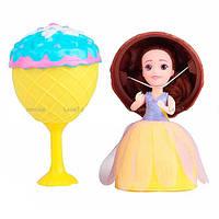 Кукла капкейк Cupcake 2309: размер 15см, расческа + заколочка