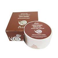 Увлажняющий крем для лица с муцином улитки Ekel Snail Moisture Cream