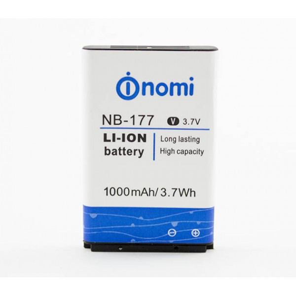 Аккумулятор NB-177 для Nomi i177, Nomi i180, Nomi i181 (Original) 1000мAh