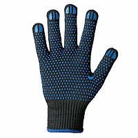 Перчатка ХБ синие