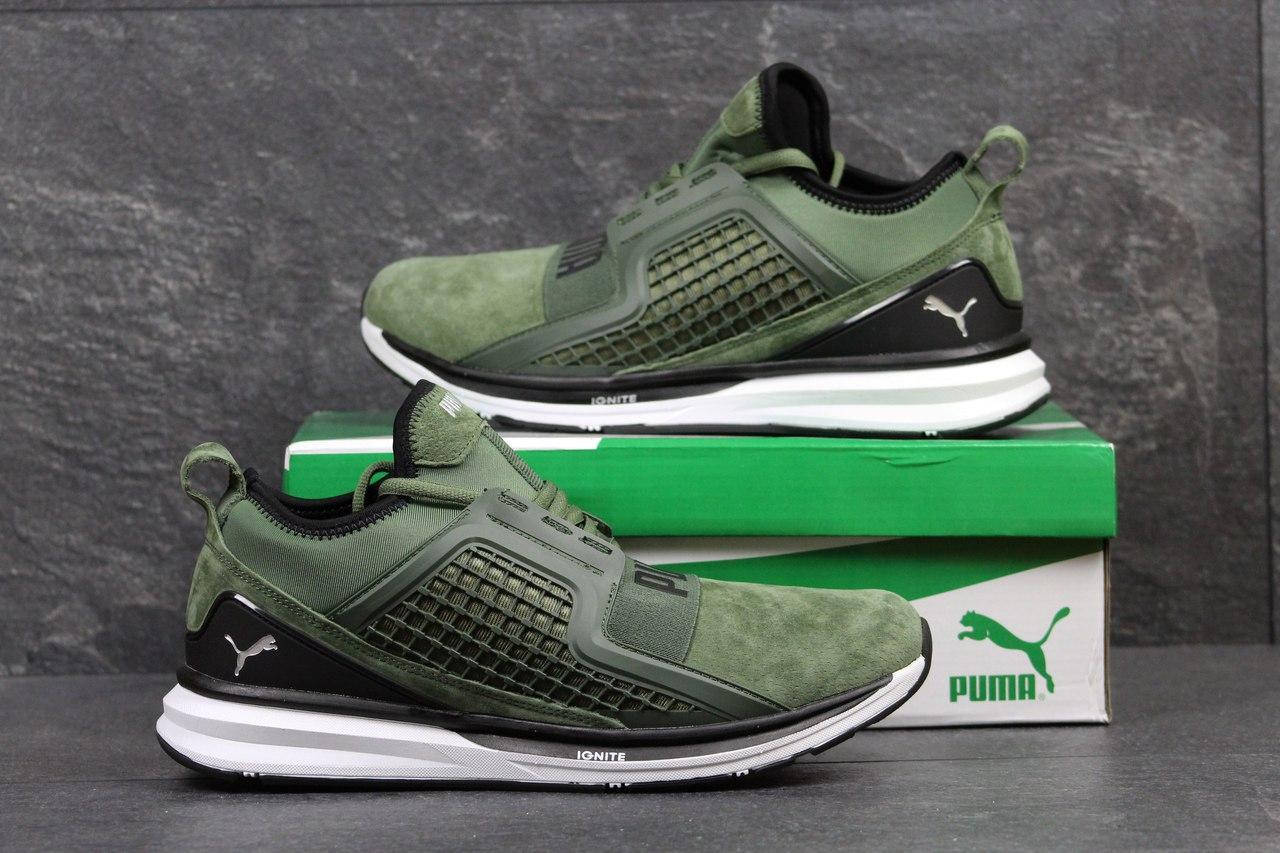"""Кроссовки Puma Ignite Limitless код 3345 зелени - Интернет-магазин обуви """"OBUFF-SHOP"""" в Хмельницком"""