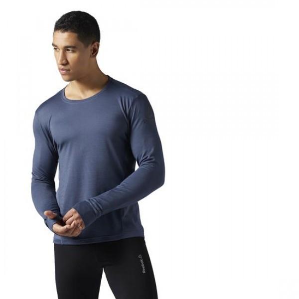 Мужская футболка Reebok Running Wool Mix (Артикул: BR2049)