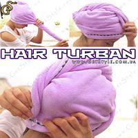 """Полотенце-тюрбан для волос - """"Hair Turban"""", фото 1"""