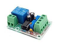 Плата контролер заряда 12 В с реле XH-M601
