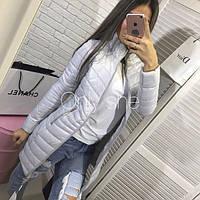 """Куртка  женская ,  осень  """"Еlvira"""" , серая   ! , фото 1"""