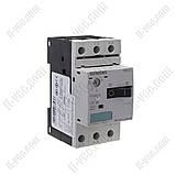 Автоматический выключатель защиты двигателя Siemens 3RV1011-1EA10, 1.5 кВт, 2.8-4A, фото 2