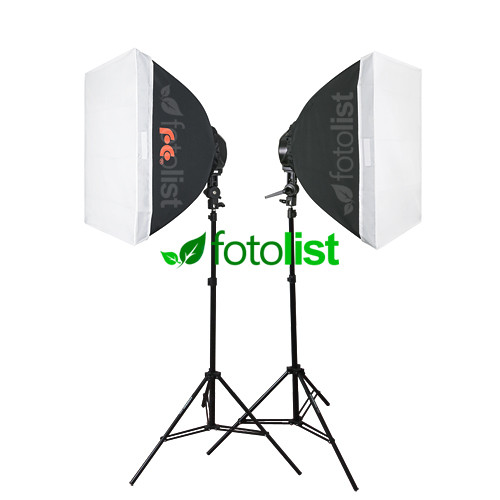 Набор постоянного флуоресцентного света Falcon LHD-B628FS-2 KIT, 12х28w, 1680 Вт, 5500К