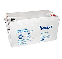 Батарея для ИБП 12В 65Aч Merlion, AGM GP12650M6, ШхДхВ 355x170x185