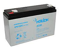 Батарея для ИБП 6В 10Ач Merlion / GP6100F2 / ШхДхВ 151х50х100