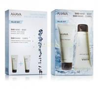 Набор Дуэт увлажняющий для руки и тела Ahava (Ахава) Kit Duo Water Hand & Body
