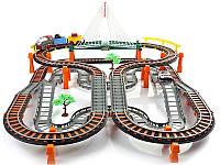 Большая железная дорога Rapid Transit с мостом 2 в 1