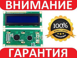 LCD 1602 для Arduino, ЖК дисплей c синей подсветкой (без i2c модуля)
