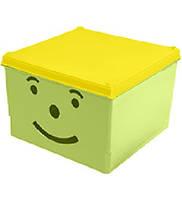 """Ящик для хранения """"SMILEY"""" 300*300*180мм BranQ"""