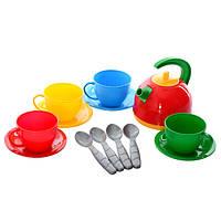 """Набор посуды """"Маринка 4  19.5×9×9см ТехноК"""" 0878"""