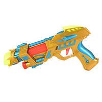 Пистолет 2015A (168шт) 26см, звук, свет, на бат-ке, в кульке, 26-14-3,5см