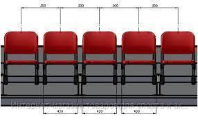 УТ 208-4 Скамейка запасных (4 места)