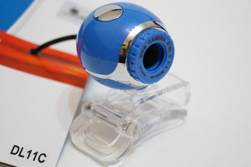 Web камера DL-11C, встроенный микрофон, CMOS, 5 Мп, проводна.