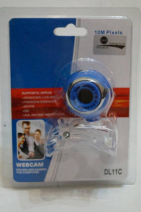 Web камера DL-11C, встроенный микрофон, CMOS, 5 Мп, проводна. , фото 2