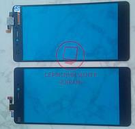 Xiaomi Mi4c тачскрін сенсор оригінальний чорний
