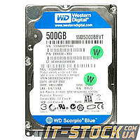 """Жесткий диск 2.5"""" 500Gb WD WD5000BEVT (8Mb/5400/SATAII) б/у"""