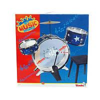 Барабанная установка со стульчиком Simba (683 9858)