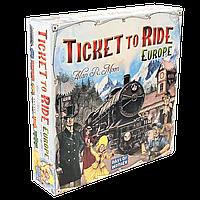 Настольная игра Ticket to Ride: Europe (Билет на поезд) eng