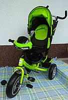 Трехколесный детский велосипед Royal Trike 588-L(2018) (надувные колеса & фара & поворот) , фото 1