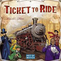 Настольная игра Ticket to Ride (Билет на поезд) eng