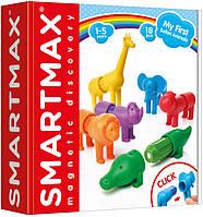 Магнитный конструктор Smart games Мои первые дикие животные (SMX 220)
