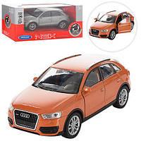 """Машинка 43666CW""""Welly. Audi Q3"""", 11 см (Y)"""