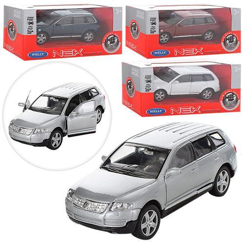 """Машинка Welly 42350CW """"Volkswagen Touareg"""", 11 см (Y)"""
