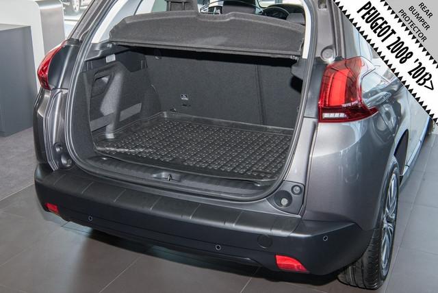 RBP623 Rear bumper protector Peugeot 2008 2013>