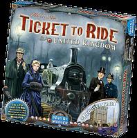 Настольная игра Ticket to Ride: United Kingdom Map Collection (Билет на поезд: Великобритания)