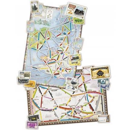 Настольная игра Ticket to Ride: United Kingdom Map Collection (Билет на поезд: Великобритания), фото 2