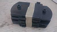 Противоскрип рессор (прокладка листов) Волга (комплект 8 шт) (пр-во Россия)