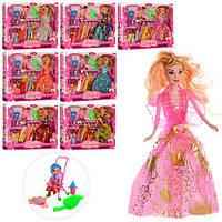 Кукла с нарядом PF014A4 (48шт) 28см, дочка 10см, аксессуары, микс видов, в кор-ке,42,5-33-5см