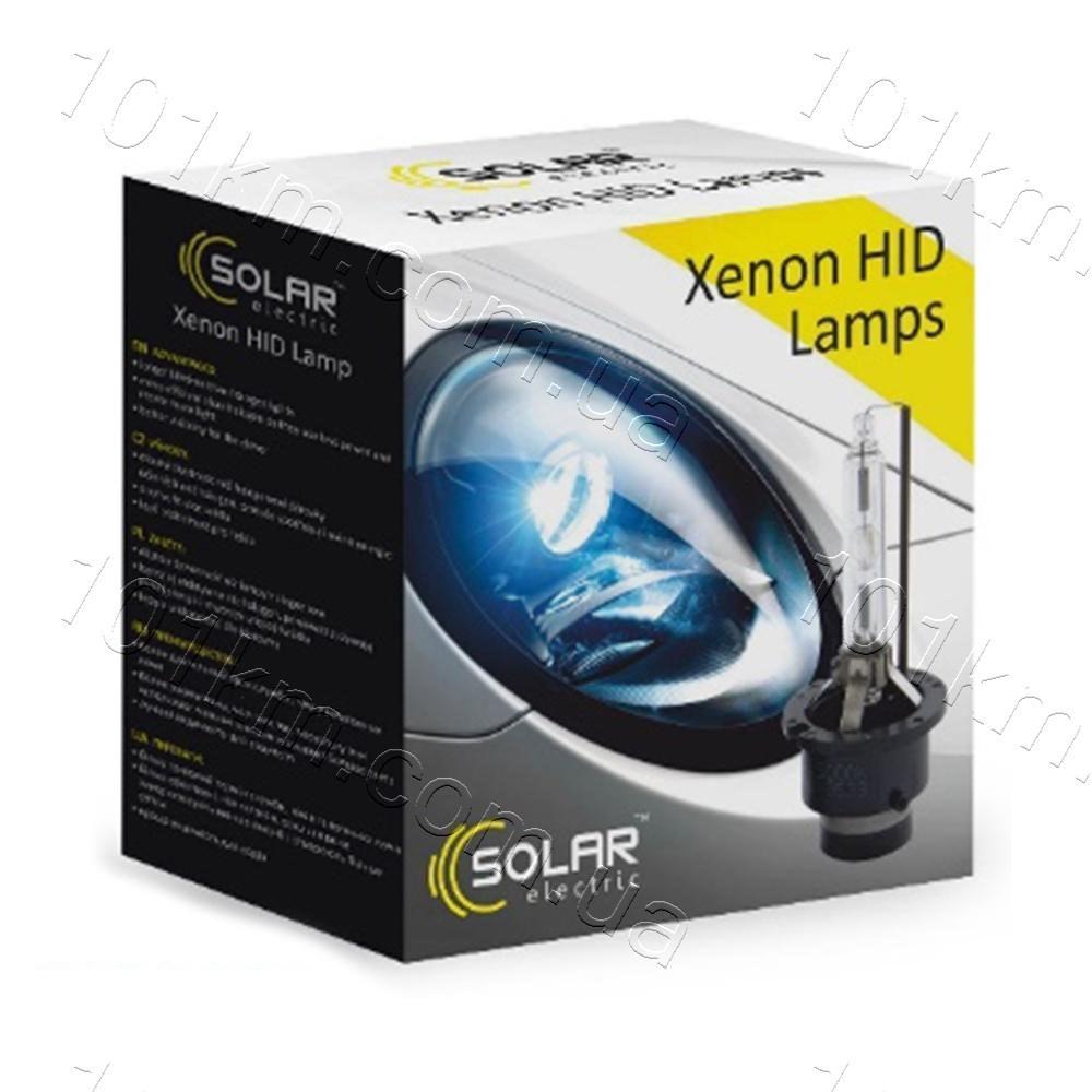 Лампы ксеноновые Solar D1S 4300k (2шт)