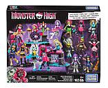 Конструктор Mega Bloks Monster High гламурная группа, фото 2