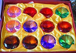 Кристаллы Фэн шуй маленькие, диаметр 4 см.